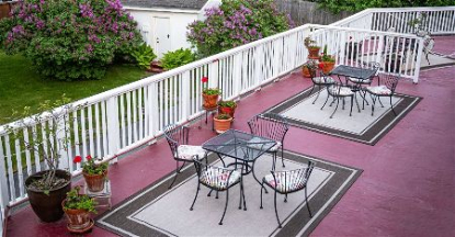 Commercial Deck painting in Rapid City South Dakota