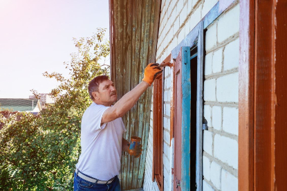 Painting and Restoring Exterior Residential House Siding in Rapid City South Dakota